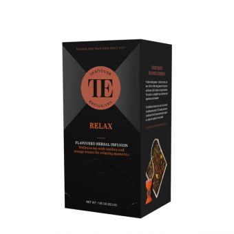 Teahouse Exclusives Relax / Orange Zitrone / Luxury Tea Bag 15 x 3.5 Gramm