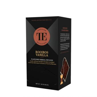 Teahouse Exclusives Rooibos Vanilla /  Luxury Bag 15 x 3.5 Gramm