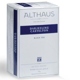 ALTHAUS Schwarzer Tee Darjeeling Castelton 20 x 1.75 g