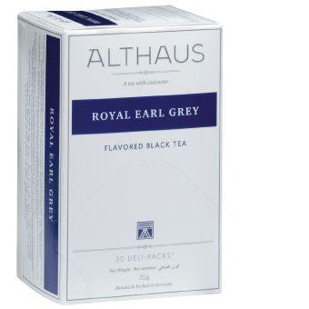 ALTHAUS Schwarzer Tee Royal Earl Grey 20 x 1.75 g
