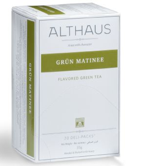 ALTHAUS Grün Matinee (Zitrus-Mango) 20 x 1.75 g