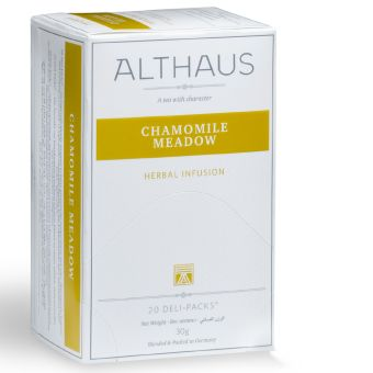 ALTHAUS Chamomile Meadow / Kamille 20 x 1.5 g