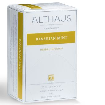 ALTHAUS Bavarian Mint /  Pfefferminze 20 x 1.75 g