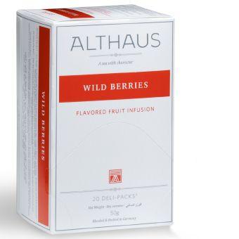 ALTHAUS Früchtetee Wild Berries (Rote Beeren) 20 x 2.5 g