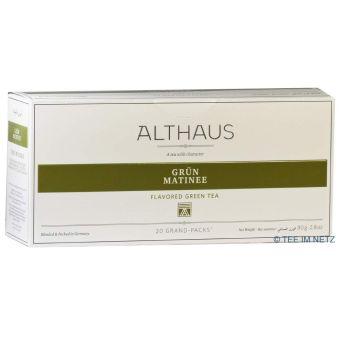 ALTHAUS Grün Matinee / Kannenbeutel 20 x 4 g