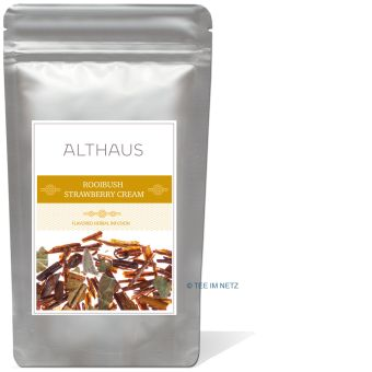 ALTHAUS Rooibush Strawberry Cream (Erdbeer-Sahne) 100 Gramm