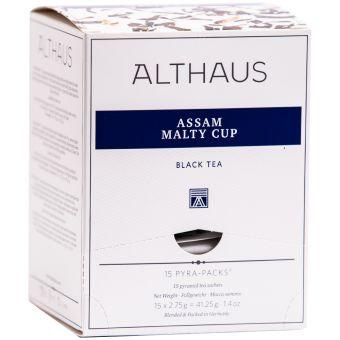 ALTHAUS Assam Malty Cup / Pyramidenbeutel 15 x 2.75g