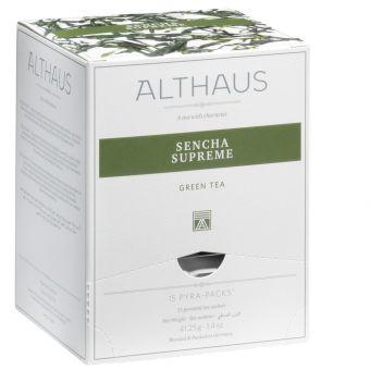 ALTHAUS Sencha Supreme / Pyramidenbeutel 15 x 2.75g
