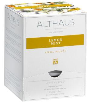 ALTHAUS Lemon Mint / Pyramidenbeutel 15 x 2.75g