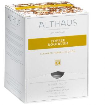 ALTHAUS Toffee Rooibush / Pyramidenbeutel 15 x 2.75g