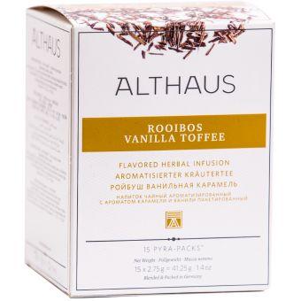 ALTHAUS Rooibos* Vanilla Toffee / Pyramidenbeutel 15 x 2.75g