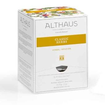 ALTHAUS Classic Herbs (Klassische Kräuter) / Pyramidenbeutel 15 x 2.25 g