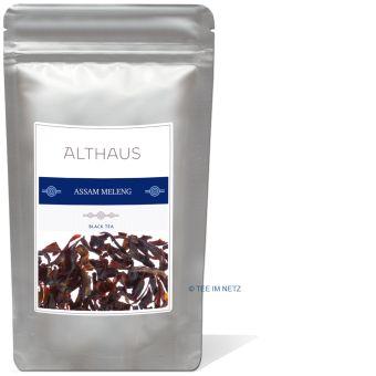 ALTHAUS Schwarzer Tee Assam Meleng GFBOP 250 Gramm