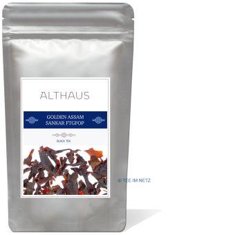 ALTHAUS Schwarzer Tee Golden Assam Sankar FTGFOP 100 Gramm