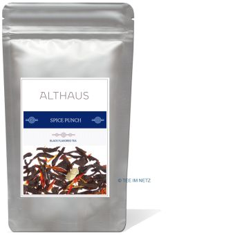ALTHAUS Spice Punch (Schwarztee Orange-Zimt) 100 Gramm