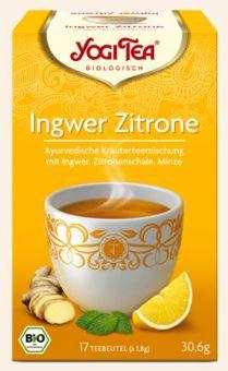 YOGI TEE Ingwer Zitrone Tee / BIO 17 x 1,8 g