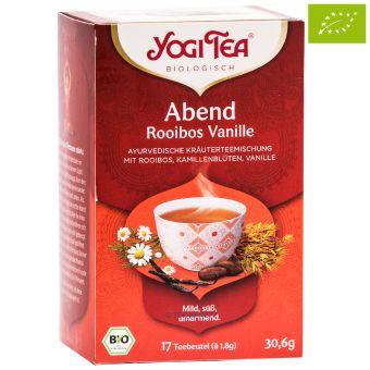 YOGI TEA® Abend Tee Rooibos* Vanille / BIO 17 x 1,8 g