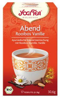 YOGI TEE Abend Tee Rooibos Vanille / BIO 17 x 1,8 g