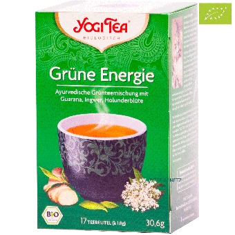 YOGI TEE Grüne Energie / BIO 17 x 1,8 g