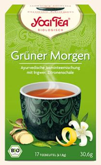YOGI TEE Grüner Morgen / BIO 17 x 1,8 g