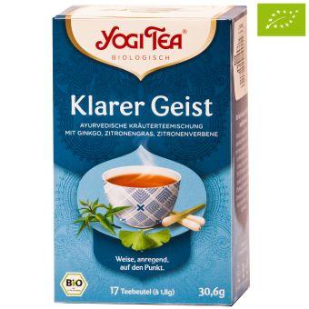 YOGI TEE Klarer Geist Tee / BIO 17 x 1,8 g