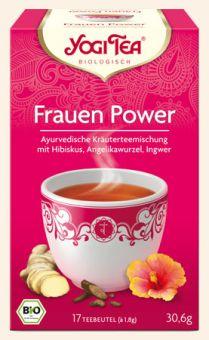 YOGI TEE Frauen Power / BIO 17 x 1,8 g
