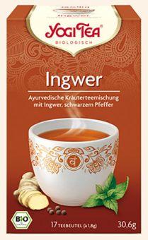 YOGI TEA® Ingwer / BIO 17 x 1,8 g