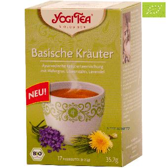 YOGI TEE Basische Kräuter / BIO 17 x 2.1 g