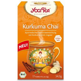 YOGI TEE  Kurkuma Chai / BIO 17 x 2 g