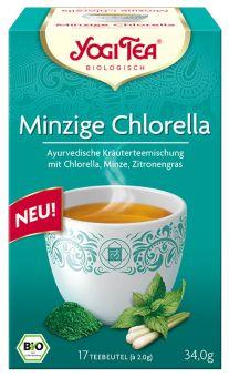 YOGI TEE Minzige Chlorella / BIO 17 x 2.0 g