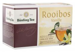 Bünting Tee Rooibos Vanille 20 x 1.75 g