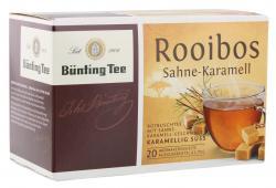 Bünting Tee Rooibos Sahne-Karamell 20 x 1.75 g