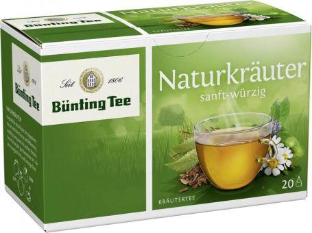 Bünting Tee Naturkräuter 20 x 2.0 g