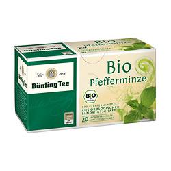 Bünting Tee Pfefferminze / BIO 20 x 2.0 g