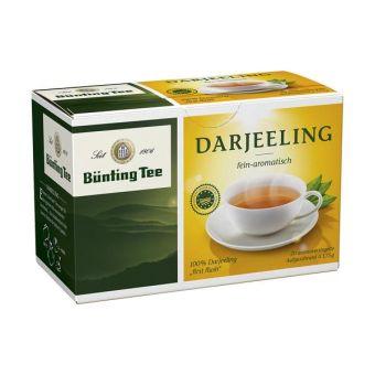 Bünting Schwarzer Tee Darjeeling / BIO 20 x 1.75 g