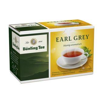 Bünting Tee Schwarzer Tee Earl Grey / Bergamotte-Zitrus 20 x 1.75 g