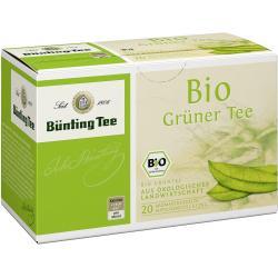 Bünting Tee Grüner Tee / BIO 20 x 1.75 g
