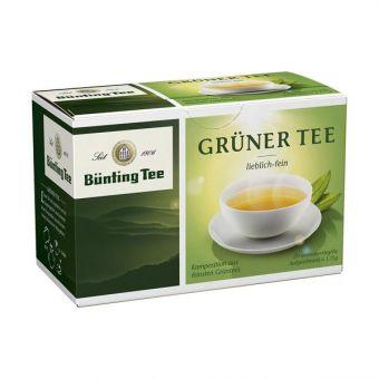 Bünting Tee Grüner Tee 20 x 1.75 g