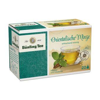 Bünting Tee Orientalische Minze 20 x 1.8 g
