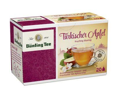 Bünting Tee Türkischer Apfel 20 x 2.75 g