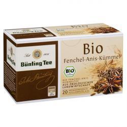 Bünting Tee Fenchel-Anis-Kümmel / BIO 20 x 3.0 g