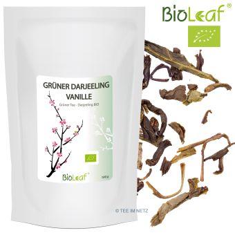 Grüner Darjeeling Vanille natürlich - BIO