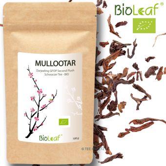 Darjeeling Mullootar Autumnal FTGFOP1 - BIO 100 Gramm