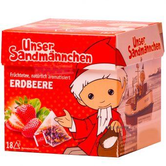 Teabreak® Sandmännchen Früchtetee Erdbeere 18 x 2.2 g