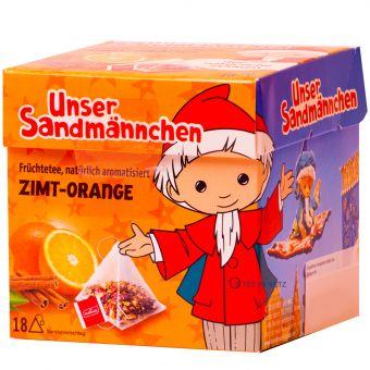 Teabreak® Sandmännchen Früchtetee Zimt-Orange 18 x 2.2 g