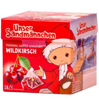 Teabreak® Sandmännchen Früchtetee Wildkirsche 18 x 2.2 g