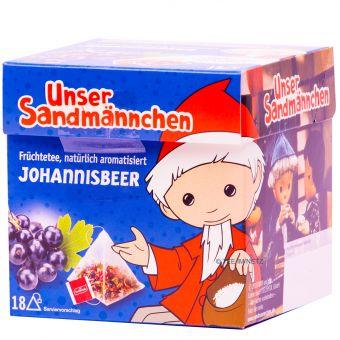 Teabreak® Sandmännchen Früchtetee Johannisbeer 18 x 2.2 g