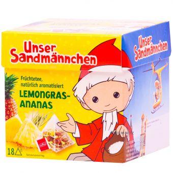 Teabreak® Sandmännchen Früchtetee Lemongras-Ananas 18 x 2.2 g