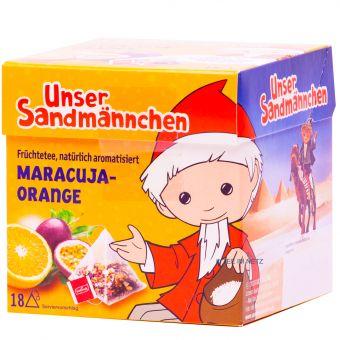 Teabreak® Sandmännchen Früchtetee Maracuja-Orange 18 x 2.2 g