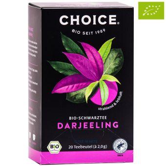 Choice® Schwarztee Darjeeling / BIO 20 x 2.0 g